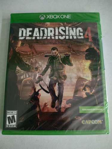 Dead Rising 4 Xbox One Nuevo Sellado