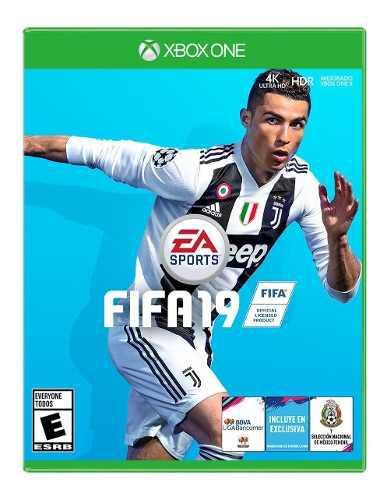 Fifa 19 Para Xbox One Nuevo Y Sellado En Wholegames !!