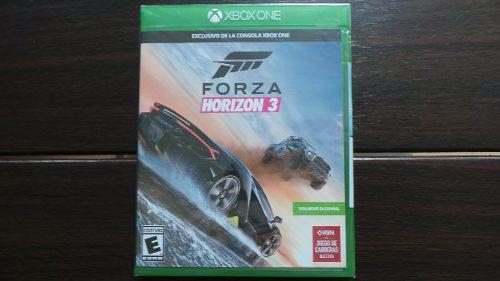 Forza Horizon 3 Xbox One Nuevo Sellado