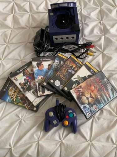 Game Cube Con Control, Memoria Y 7 Juegos