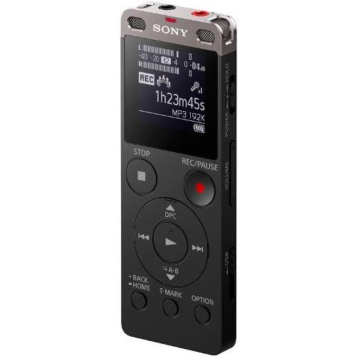 Grabadora De Voz Portátil Sony Usb Ux560f 4gb Memoria Int