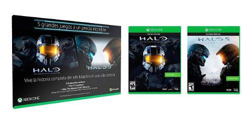 Halo 5 + Halo Master Chief Collection Xbox One Nuevo