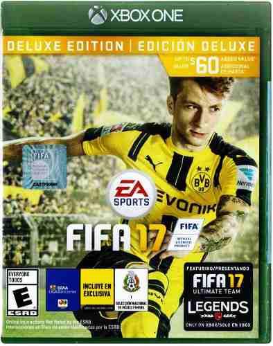 Juego Fifa 17 Xbox One Deluxe Edition