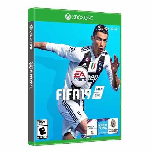Juego Fifa 19 Xbox One 4k Hdr Mejorado Envio Gratis Y 12msi