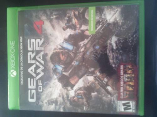 Juego Para Xbox One Gears Of War 4 Original