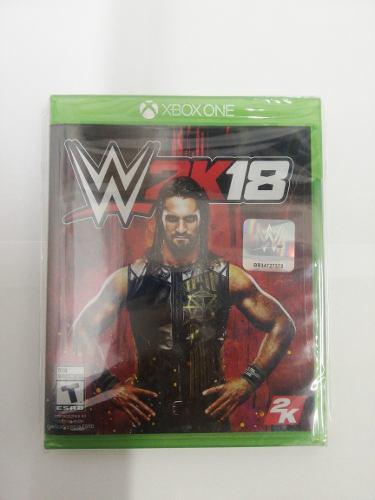 Juego Wwe 2k18 Xbox One Nuevo Original