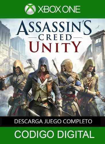 Juego Xbox One Assasins Creed Unity Digital Envio Inmediato