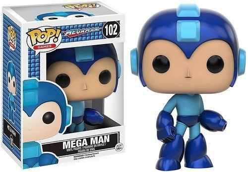 Juegos Funko Pop: Mega Man - Figura De Acción Mega Man
