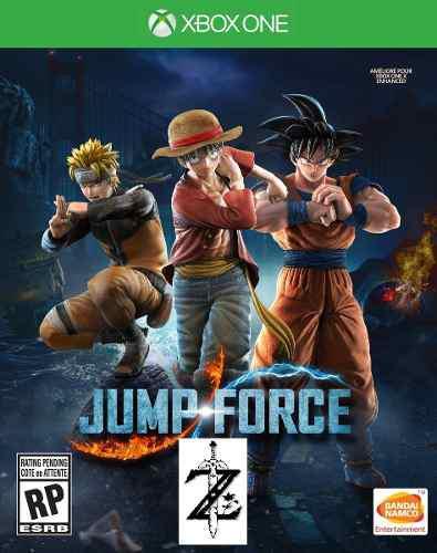 Jump Force Xbox One 2x1