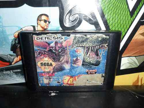 King Of Monsters Sega Genesis