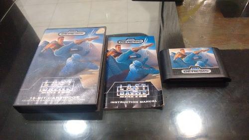 Last Battle Para Sega Genesis Completo Caja E Instructivo