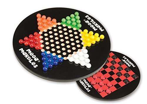 Mega Fun Usa Chinese Checkers Juego De Madera Con Mega