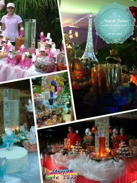 Mesa de dulces, Candy bar, Candy table
