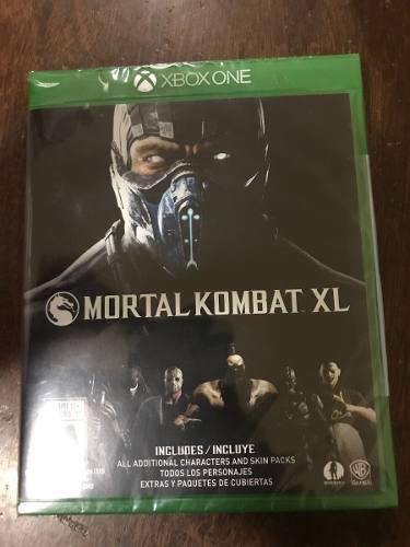 Mortal Kobat Xl Para Xbox One Nuevo