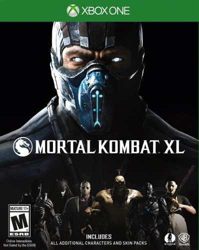 Mortal Kombat Xl Para Xbox One Nuevo Y Sellado