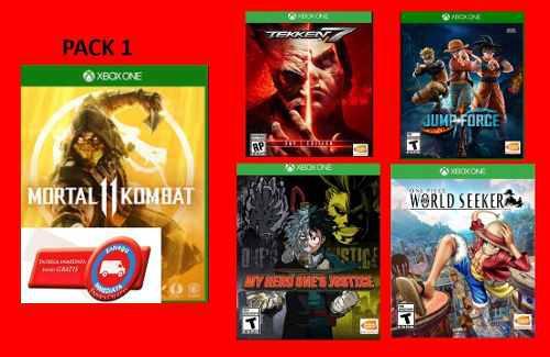 Mortal Pack De 5 Juegos Online Para Xbox One