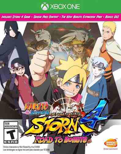 Naruto Shippuden Ultimate Storm 4 Road To Boruto Xbox One