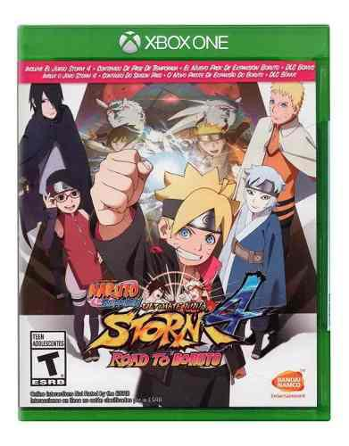 Naruto Ultimate Ninja Storm 4 Road To Boruto Xbox One *