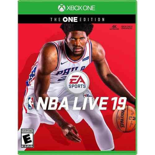 Nba Live 19 The One Edition - Xbox One Nuevo Y Sellado