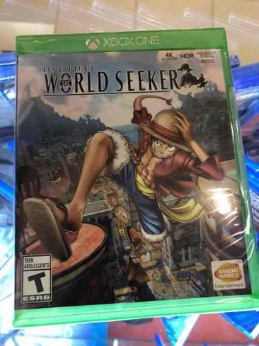 One Piece World Seeker Xbox One Nuevo Sellado Envío