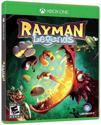 Rayman Legends Xbox One Nuevo Y Sellado Juego Videojuego