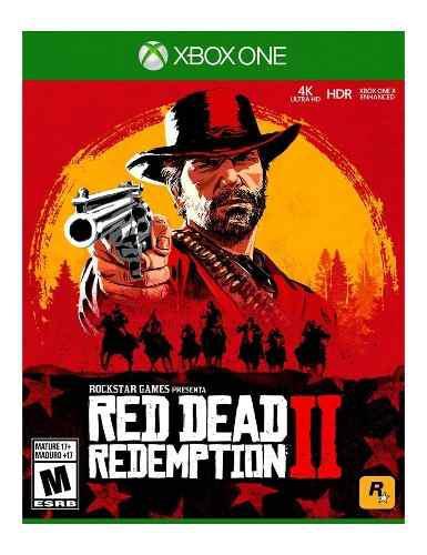 Red Dead Redemption 2 Para Xbox One Nuevo Y Sellado.