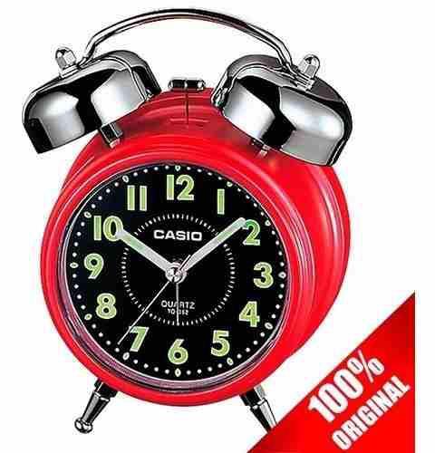 Reloj Casio Tq362 Rojo Despertador Campana