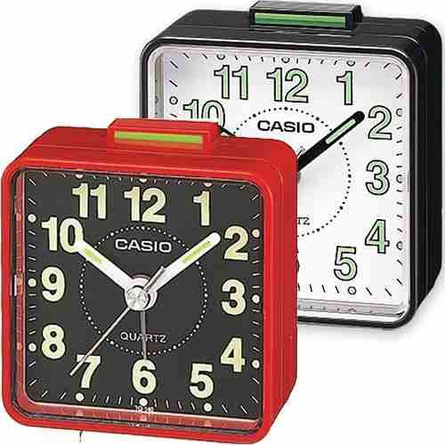 Reloj Casio Viajero Mesa Dq 140 Colores Despertador 57 Mm