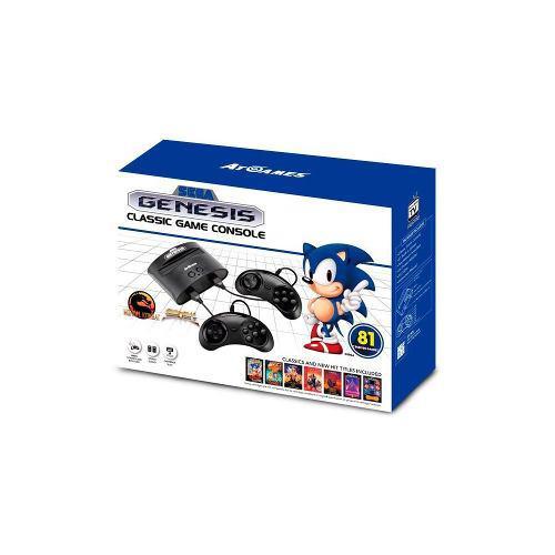 Sega - Consola Clasica Genesis - 81 Juegos Version 2018