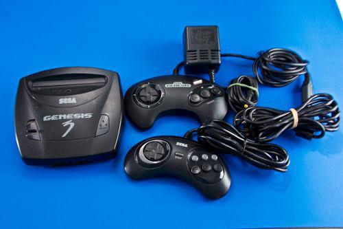 Sega Genesis 3 Con El Juego Sonic The Hedgehog 2