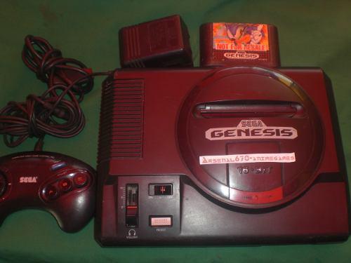 Sega Genesis Con 3 Juegos A Escoger