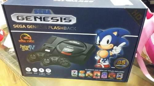 Sega Genesis Flashback Hd 85 Juegos Incluidos