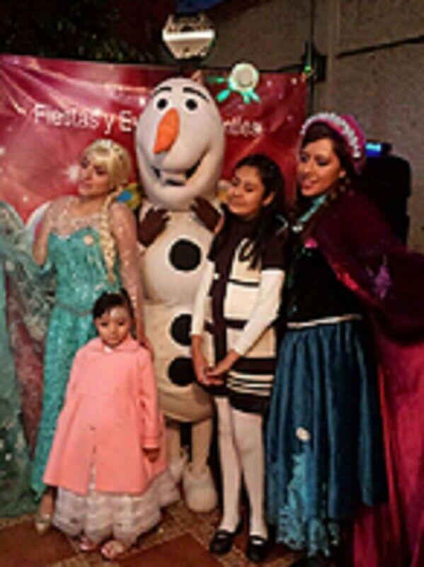 Show infantil de Frozen