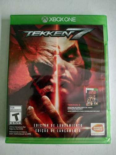 Tekken 7 Xbox One Nuevo Sellado