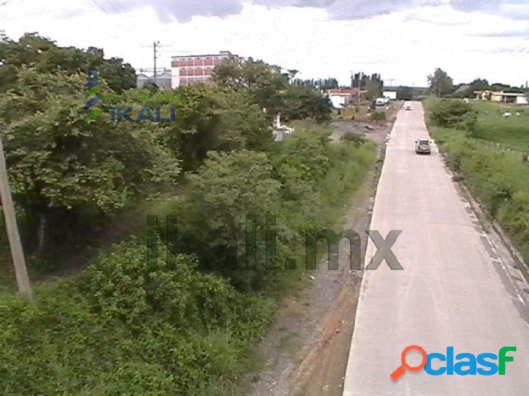 Vendo Terreno 21000 m² libramiento portuario Tuxpan