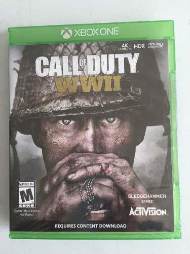 Videjuego Call Of Duty: World War 2 Xbone One Game41-1