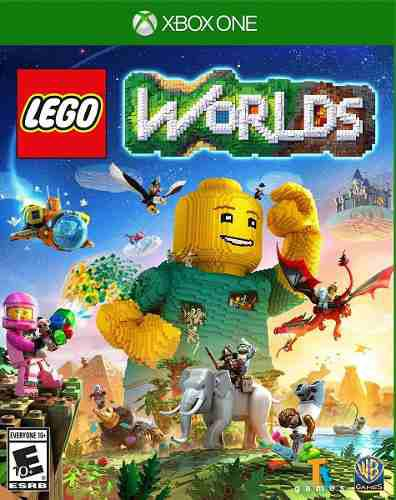 Xb1 - Lego Worlds - Nuevo Y Sellado - Ag