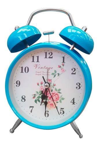 Yl Retro Reloj Despertador Clasico Campana 3304-2