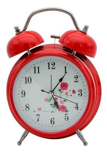 Yl Retro Reloj Despertador Clasico Campana Vintage 2050