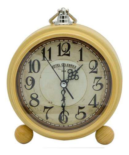 Yl Retro Vintage Clasico Reloj Despertador Campana 3306-2