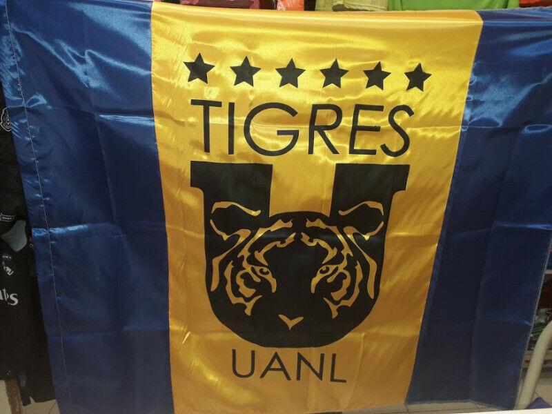 bandera tigres UANL 1 metro por 1.40