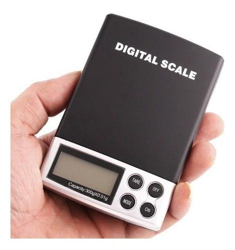 Báscula Digital Hasta 300 Gramos Con Exactitud 0.01
