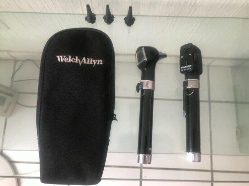 Excelente estuche de diagnóstico Welch Allyn