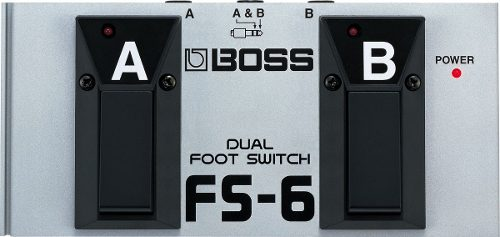 Pedal Interruptor Dual Foot Switch Boss® Fs-6