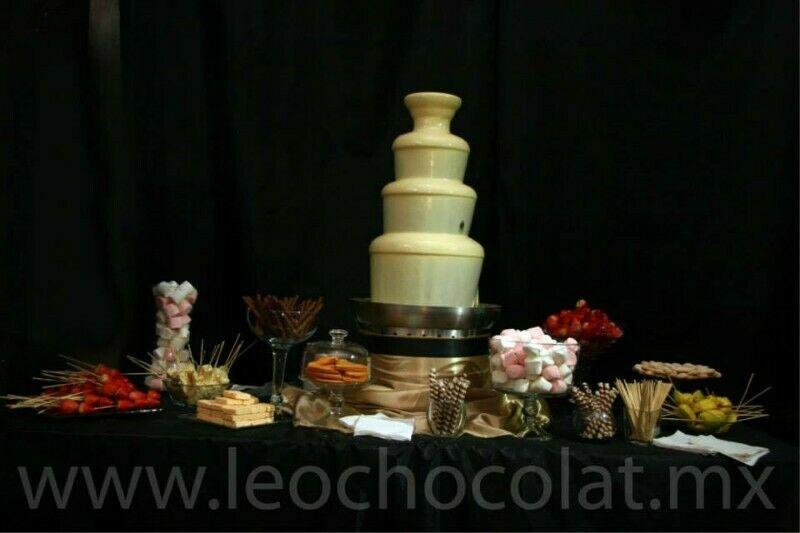 Renta de Fuentes de Chocolate, Chamoy y Queso