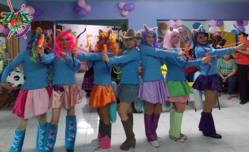 Show de My little pony! infantil e interactivo!