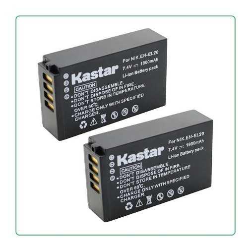 2 Baterias Pila En-el20 Para Camara Digital Nikon J1 Coolpix