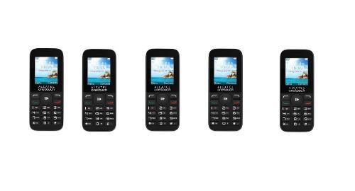5 Pzs Teléfono Barato Alcatel 1050a