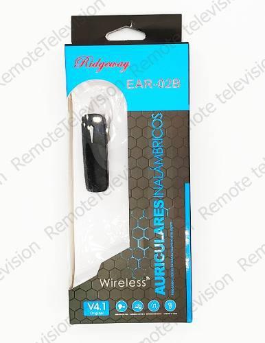 Auricular Manos Libres Bluetooth Universal Economico Rider