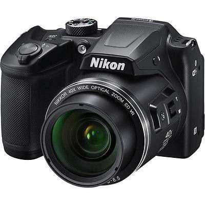 B500 De Nikon Coolpix Cámara Digital (negro) 26506